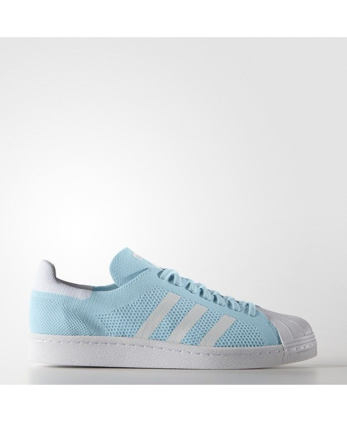 Newest Adidas Superstar Mens Blue Discount Trainers T-1045