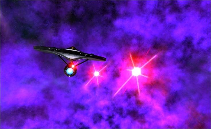 NCC-1701 USS ENTERPRISE