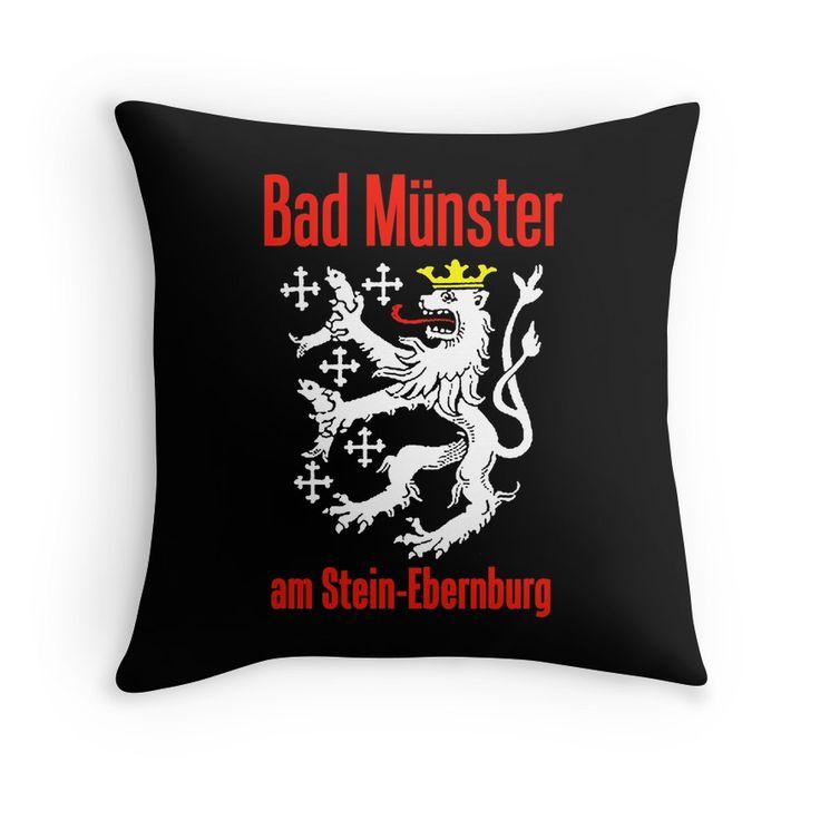 Simple Bad M nster am Stein Ebernburg Throw Pillow