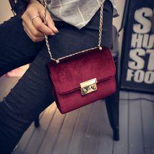 Fashion Women Handbag Shoulder Bag Suede Messenger Hobo Bag Satchel Purse Tote
