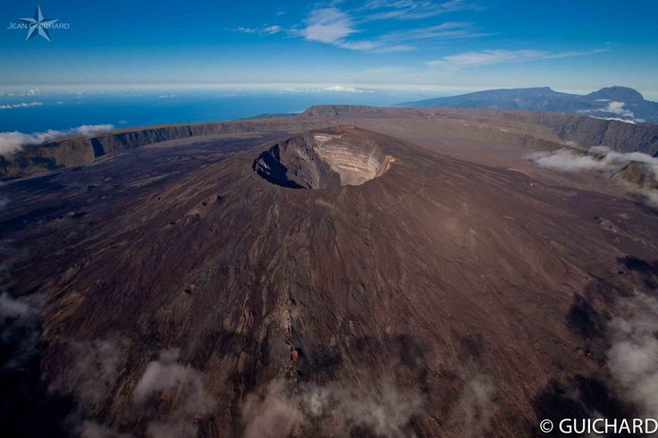 Piton de la Fournaise Volcano, Reunion Island