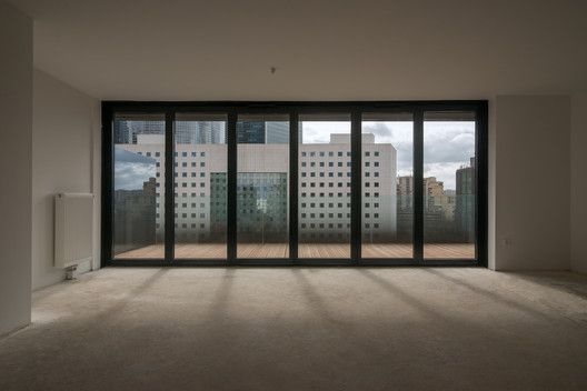 Îlot 19, La Défense-Nanterre,Courtesy of Farshid Moussavi Architecture