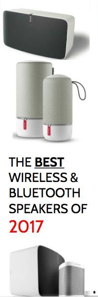The best wireless and bluetooth speakers reviewed of 2017 - The best from Sonos, Bose, Libratone, Bang & Olufsen and more - Seem them all now!