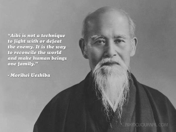 O'Sensei Moriei Ueshiba