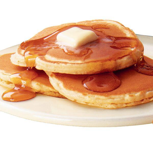 FINALLY. Easy, delicious, gluten free pancakes. I just use 1:1:1 cornstarch, tapioca flour, and rice or sorghum flour.