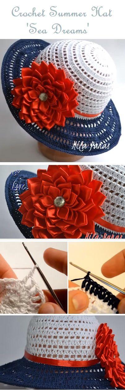 Summertime Hat – Crochet Tutorial