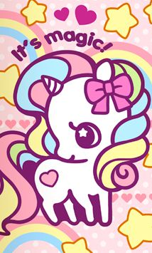 Super Kawaii Magic Unicorn    #cute #kawaii #unicorn #pastel #pony