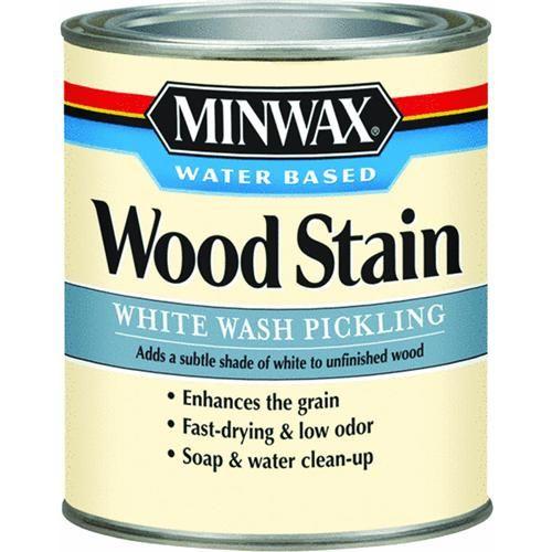 White Wash Stain On Maple: Minwax White Wash Pickling