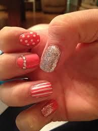 coral nail designs - Google Search