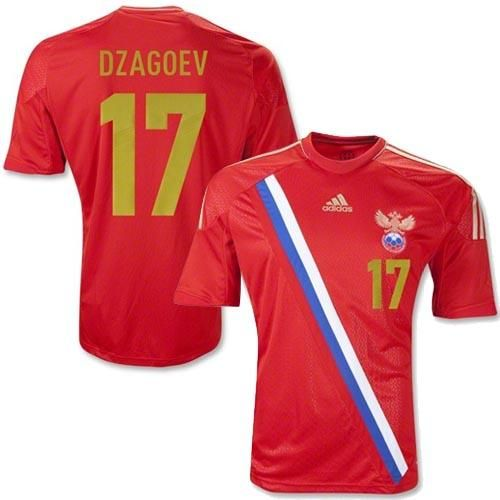 6670c8e54 ... world cup russian top quality soccer clothing uniforms football jersey  custom name dzagoev 10 russia jer  russia 17 alan dzagoev red home soccer  country ...