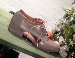 Clarks Gold Brogues 2014 #ss14 #shoes