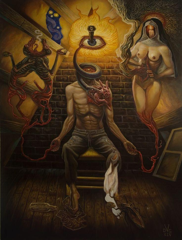 Night Kept Chained Below by David Van Gough