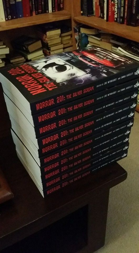 Aaron Sterns needed a few copies for his StokerCon 2016 visit.