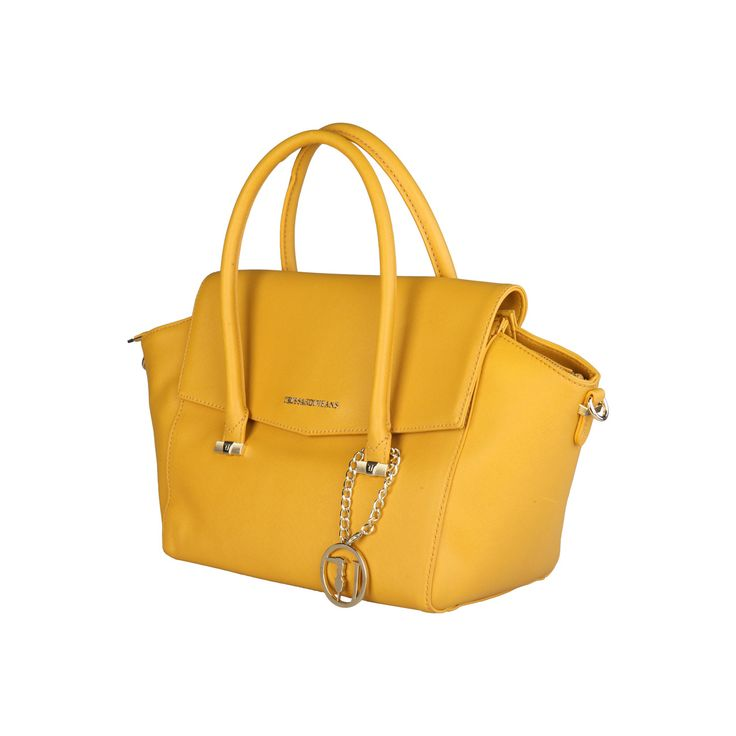 Trussardi – 75B492XX  2016 F/W Collection eco-leather handbag has 100% PL interior, magnetic fastening and zip, 2 handles, removable shoulder strap and a dust bag. Inside it, there are 1 zipped pocket and 2 pockets. It is of size 33*25*17 cm.  https://fashiondose24.com