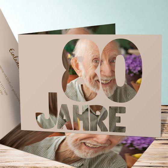 Einladungskarten Zum 80 Geburtstag Selbst Gestalten: Die 25+ Besten Einladungskarten 80 Geburtstag Ideen Auf