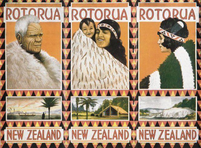 Mitchell, Leonard Cornwall 1901-1971 :Rotorua, New Zealand. [ca 1930].