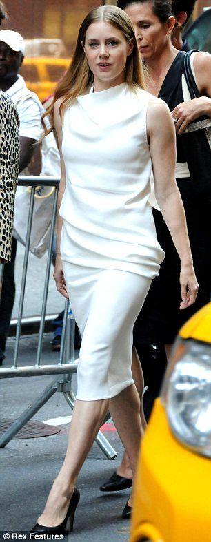 Amy Adams at the Calvin Klein S/S 2013 show #NYFW