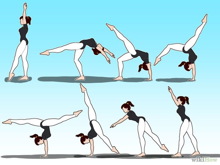 How to Do a Back Walkover Without Any Spotters (with Pictures)