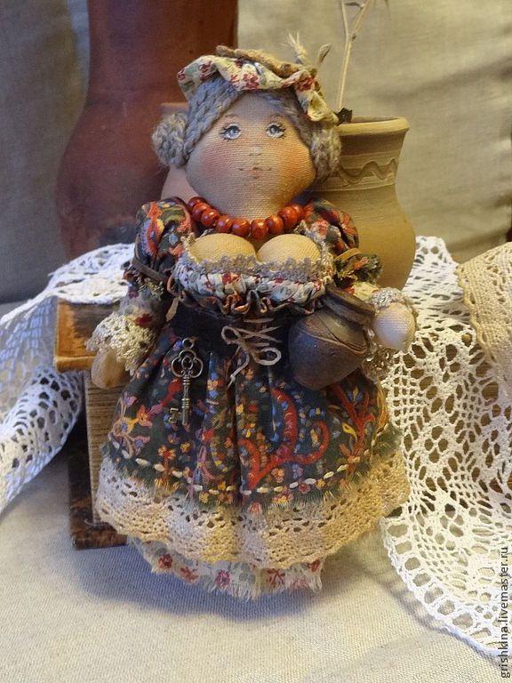 Купить Милая , милая Гретхен... - коллекционная кукла, состаренный стиль, ароматизированная кукла