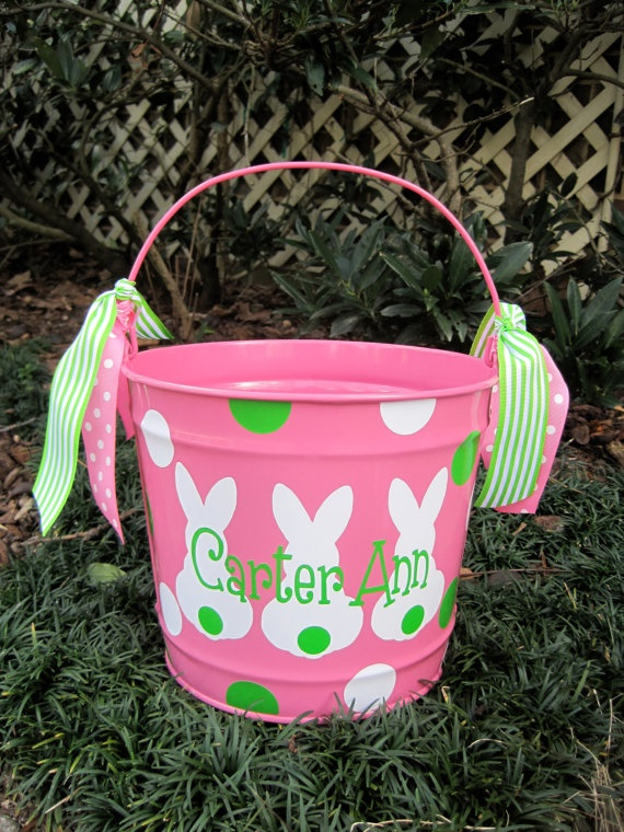 17 best ideas about personalized easter baskets on pinterest