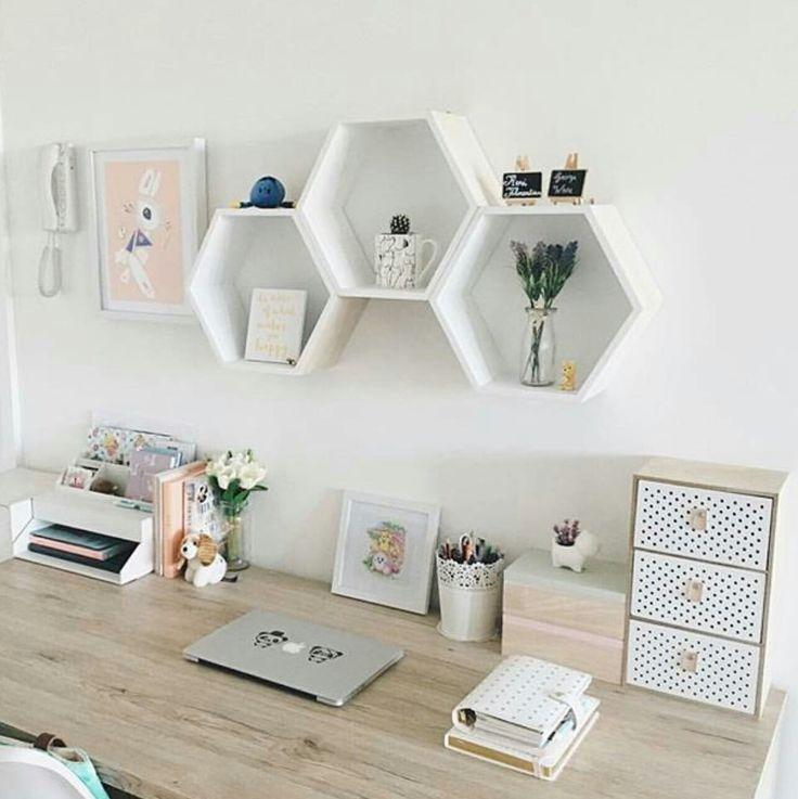 Heimtextilien, Deko, Büro minimalistisch, Arbeit minimal Büro, Dekoration de esp …