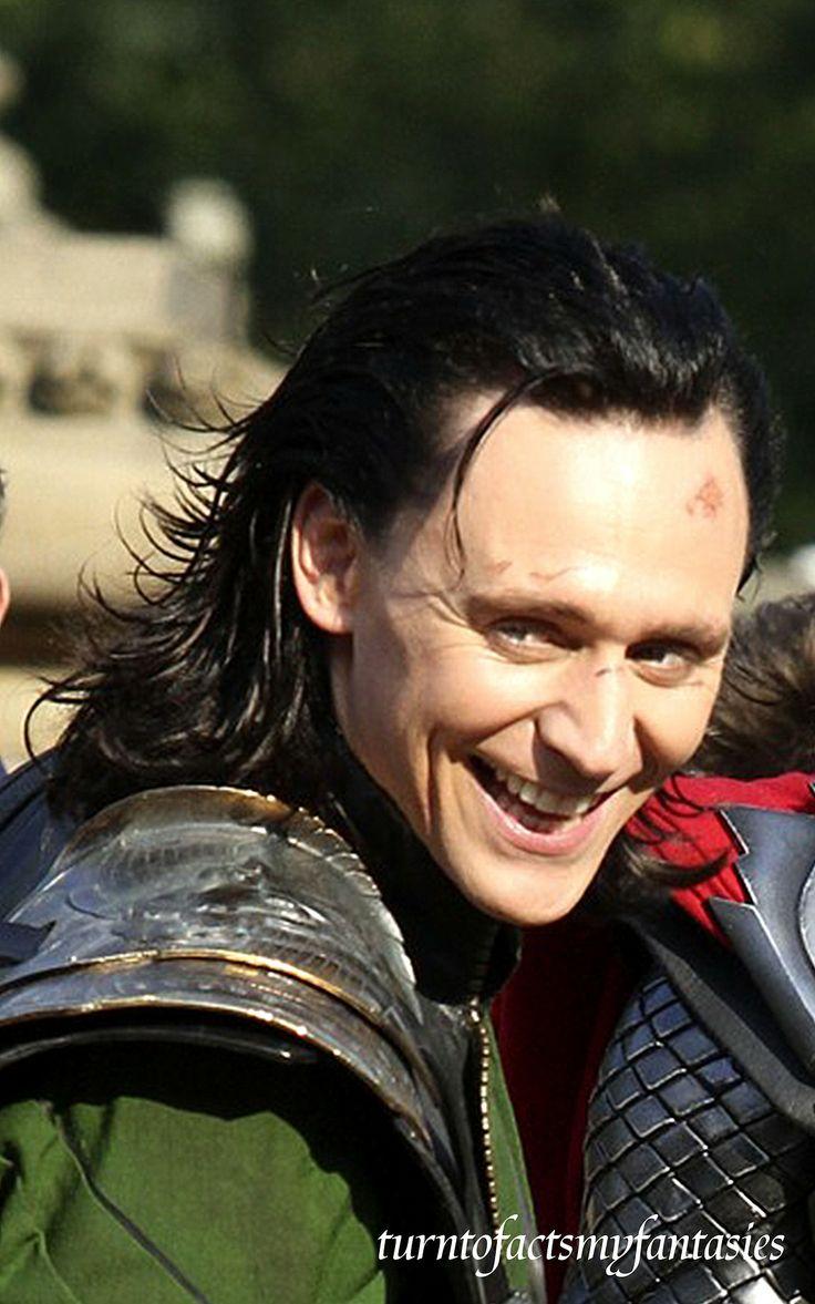 Loki Smile | Tom | Pinterest