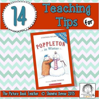 14 teaching ideas from the picture book teacher for the book poppleton in winter by cynthia. Black Bedroom Furniture Sets. Home Design Ideas