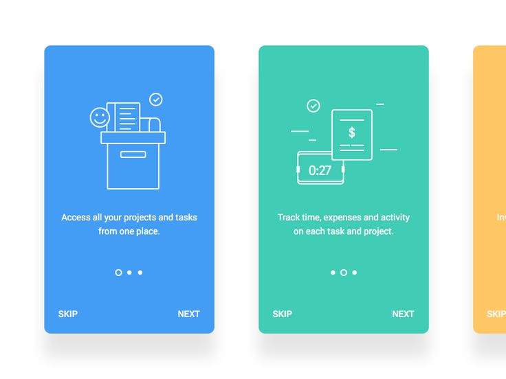 Simple and minimal onboarding screens.  Check  My profile for more nice shoots  Twitter  / Behance  / Instagram
