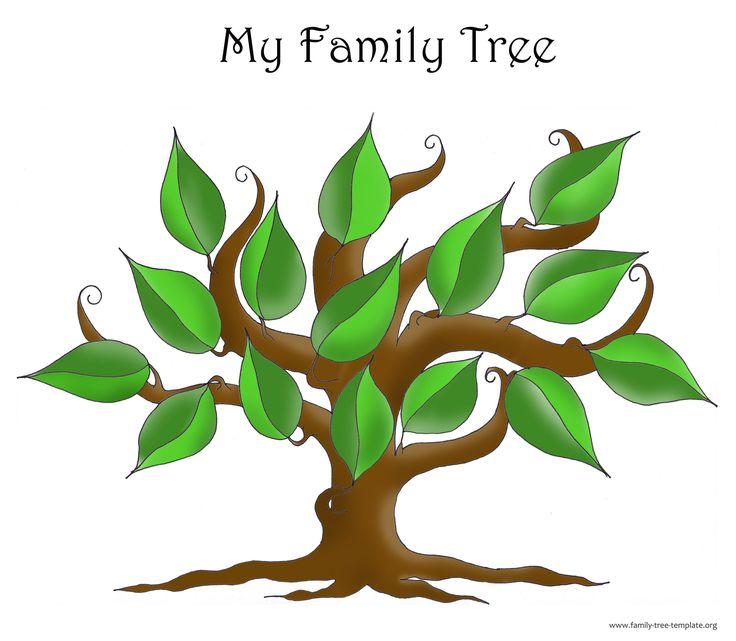 Printable Blank Family Tree Template