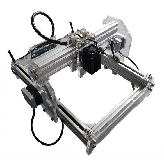 2000 mW Desktop DIY Laser Engraver Engraving Machine CNC Printer aluminium alloy and acrylic Material Size A5 >>> Check this awesome product by going to the link at the image.