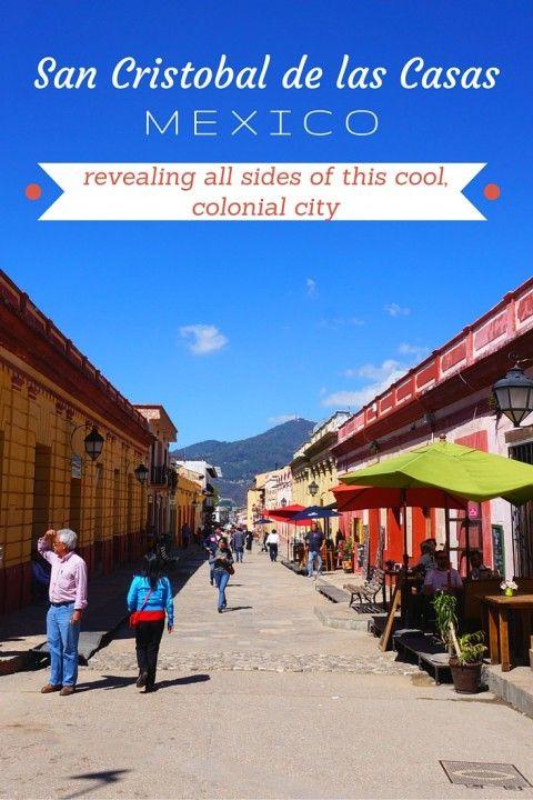 San Cristobal de las Casas, Mexico Revealing All Sides of