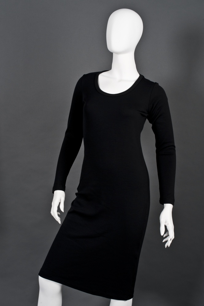 check out their little black dress... simple AND warm, love wearing it.