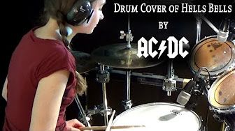 ACDC - Whole Lotta Rosie; Drum Cover by Sina - YouTube