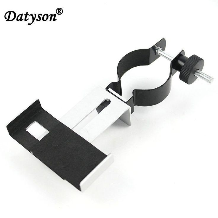 Datyson 0.965 or 1.25 inch Microscope Telescopes Metal Universal Photography Bracket mount For mobile phone Connection Adapter //Price: $10.88//     #electonics