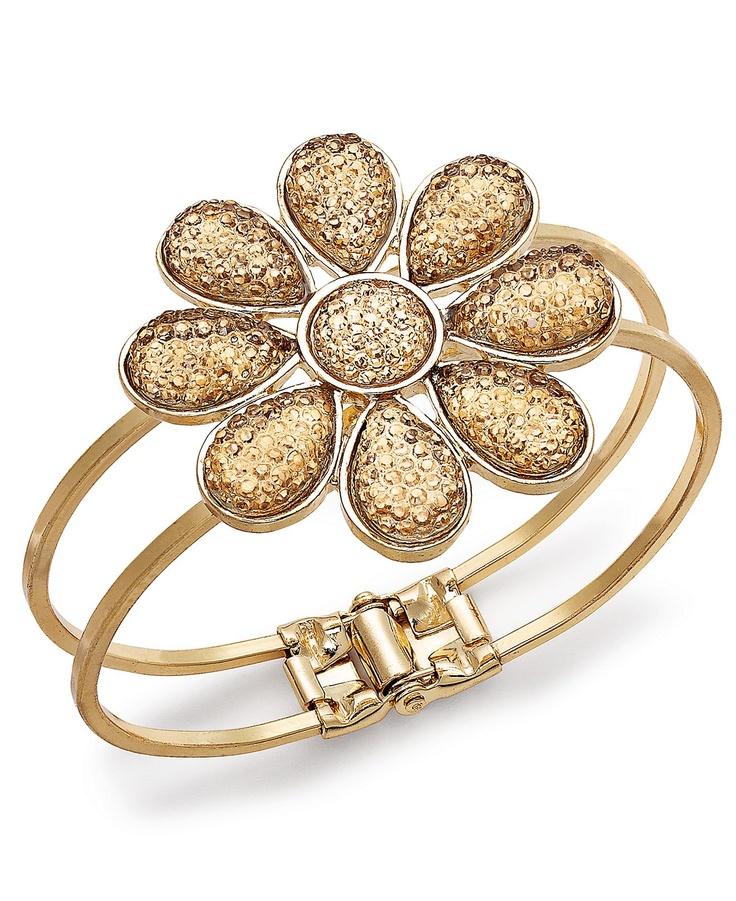 Kova&T 18k yellow gold and diamond geometric bangle nTGAO3i3