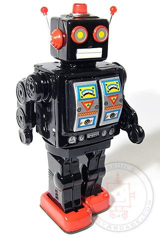Buy Mr. D Cell Black and Red Christmas Edition at TinToyArcade.com