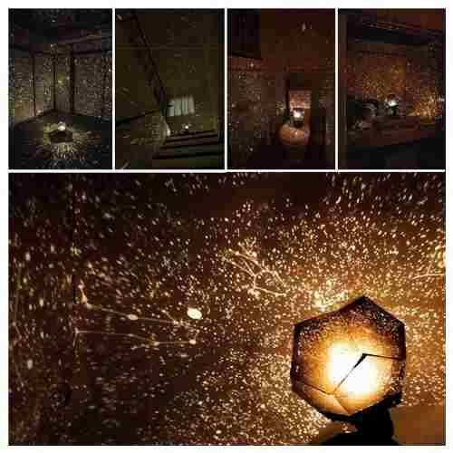 Lámpara Proyector De Estrellas Planetario Y Cosmo Astros