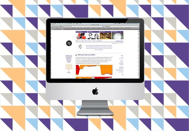 Low2No web page by Muotohiomo