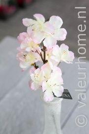 Silk-ka Blossom Steker Perzik | Zijde Bloemen | Valeur Home Decoration
