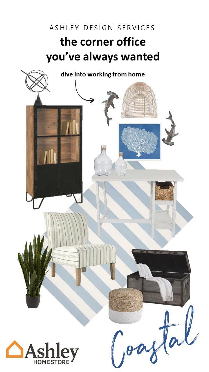 Sail Into Productivity Coastal Decor Ashley Furniture Homestore Service Design