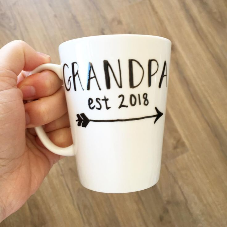 The 25 best new grandparent gifts ideas on pinterest unique grandpa est 2018 what a thoughtful idea for a new grandparent prettycupco personalised personalisedgifts nz newzealand gift cup coffee negle Images