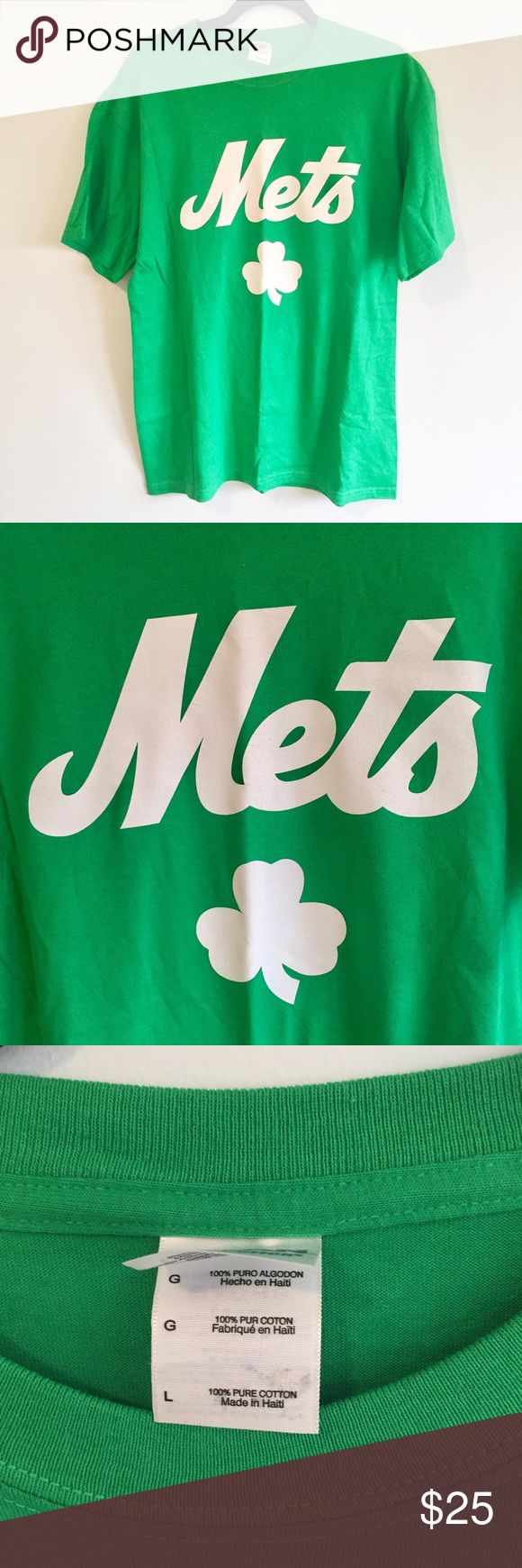 """NWOT - T7Line Mets T-shirt Brand new never worn but has 2 marks on the back of the shirt (see last 2 photos). Purchased directly from The 7 Line Army website - shirt style is no longer in print. Measures 21"""" shoulders 30"""" long. Shirts Tees - Short Sleeve"""