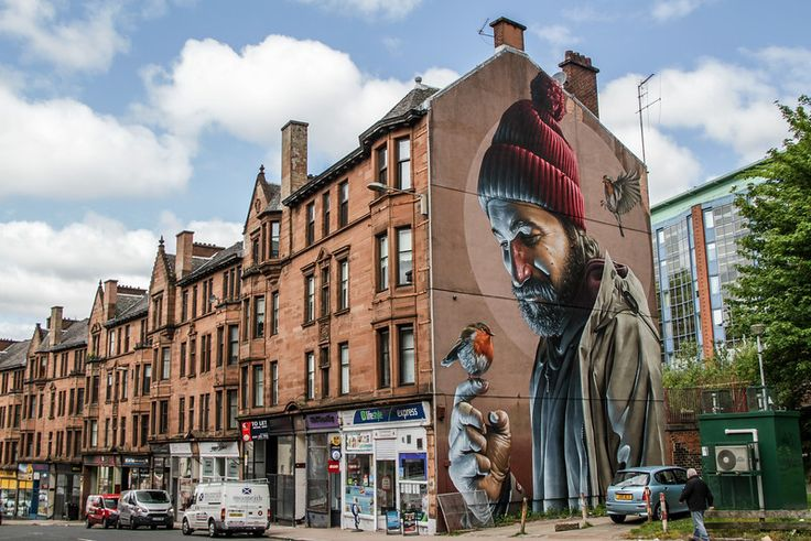 Visit Glasgow - Street art 1