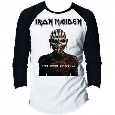 Tricou maneca lunga Iron Maiden: The Book of Souls