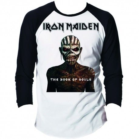 Tricou maneca lunga Iron Maiden: The Book of Souls
