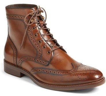 J&M 1850 'Meritt' Wingtip Boot (Men) (Nordstrom Exclusive)