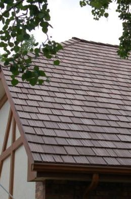 83 best davinci roofscapes roof rap images on pinterest for Polymer roofing shingles