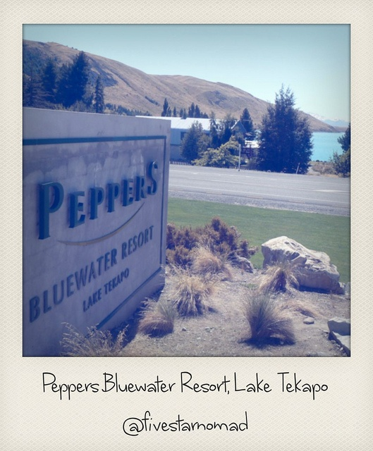 Peppers Bluewater Resort, Lake Tekapo by fivestarnomad, via Flickr