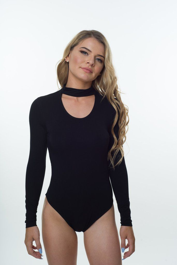 The most essential piece you'll need this season. This long sleeve bodysuit featuring a choker neck goes with almost anything in your wardrobe. Soft, comfortable, versatile and bang on trend.