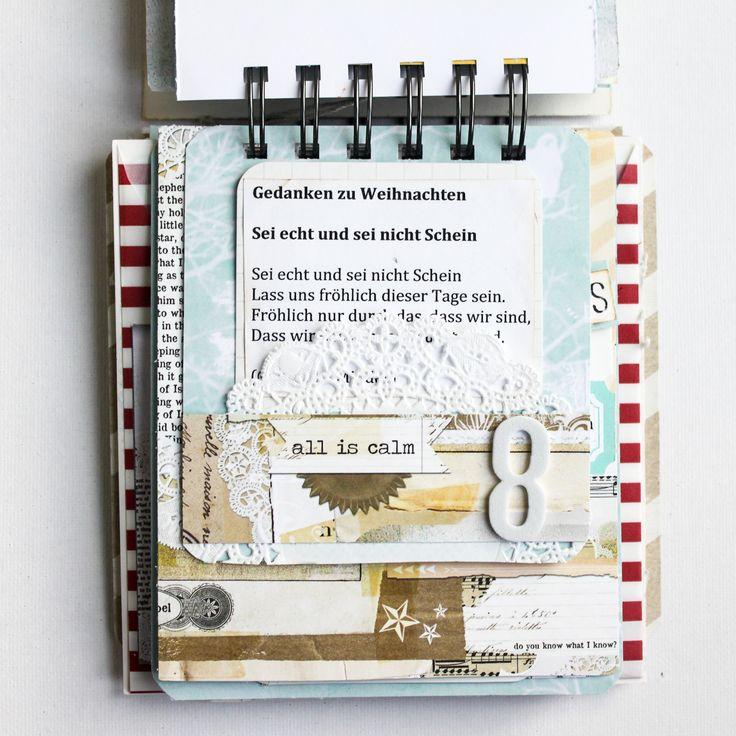 Weihnachtscountdown-Kalender DIYfrollein.de (Stephanie Schütze)